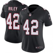 Wholesale Cheap Nike Falcons #42 Duke Riley Black Alternate Women's Stitched NFL Vapor Untouchable Limited Jersey