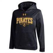 Wholesale Cheap Pittsburgh Pirates Under Armou Fleece Black MLB Hoodie