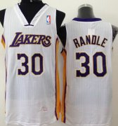 Wholesale Cheap Los Angeles Lakers #30 Julius Randle White Swingman Jersey
