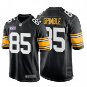 Wholesale Cheap Nike Steelers #85 Xavier Grimble Super Bowl XIII 1978 Retro Game NFL Jersey Black