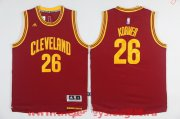 Wholesale Cheap Men's Cleveland Cavaliers #26 Kyle Korver Red adidas Revolution 30 Swingman Stitched NBA Jersey