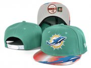 Wholesale Cheap Dolphins Team Logo Aqua Adjustable Hat SF