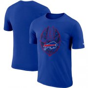 Wholesale Cheap Men's Buffalo Bills Nike Royal Fan Gear Icon Performance T-Shirt