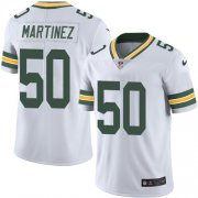Wholesale Cheap Nike Packers #50 Blake Martinez White Men's Stitched NFL Vapor Untouchable Limited Jersey
