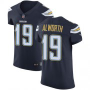 Wholesale Cheap Nike Chargers #19 Lance Alworth Navy Blue Team Color Men's Stitched NFL Vapor Untouchable Elite Jersey