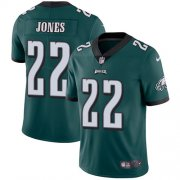 Wholesale Cheap Nike Eagles #22 Sidney Jones Midnight Green Team Color Men's Stitched NFL Vapor Untouchable Limited Jersey