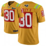 Wholesale Cheap Nike Rams #30 Todd Gurley II Gold Men's Stitched NFL Limited City Edition Jersey