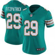 Wholesale Cheap Nike Dolphins #29 Minkah Fitzpatrick Aqua Green Alternate Women's Stitched NFL Vapor Untouchable Limited Jersey