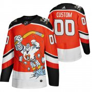 Wholesale Cheap Anaheim Ducks Custom Red Men's Adidas 2020-21 Alternate Authentic Player NHL Jersey