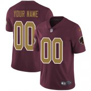 Wholesale Cheap Nike Washington Redskins Customized Burgundy Red Alternate Stitched Vapor Untouchable Limited Men's NFL Jersey
