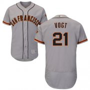 Wholesale Cheap Giants #21 Stephen Vogt Grey Flexbase Authentic Collection Road Stitched MLB Jersey