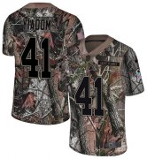 Wholesale Cheap Nike Broncos #41 Isaac Yiadom Camo Men's Stitched NFL Limited Rush Realtree Jersey