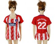 Wholesale Cheap Women's Atletico Madrid #22 Nico Gaitan Home Soccer Club Jersey