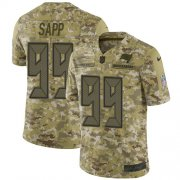 Wholesale Cheap Nike Buccaneers #99 Warren Sapp Camo Men's Stitched NFL Limited 2018 Salute To Service Jersey