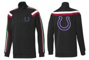 Wholesale Cheap NFL Indianapolis Colts Team Logo Jacket Black