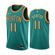 Wholesale Cheap Nike Celtics #11 Enes Kanter Green 2019-20 City Edition NBA Jersey