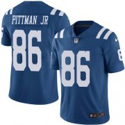 Wholesale Cheap Nike Colts #86 Michael Pittman Jr. Royal Blue Youth Stitched NFL Limited Rush Jersey