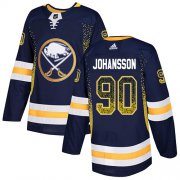 Wholesale Adidas Sabres #9 Jack Eichel Black Authentic Team Logo Fashion Stitched NHL Jersey