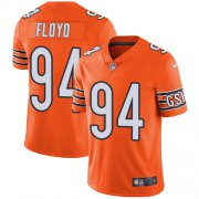 Wholesale Cheap Nike Bears #94 Leonard Floyd Orange Men's Stitched NFL Limited Rush Jersey
