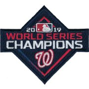 Wholesale Cheap Nationals Majestic 2019 World Series Champions Home Cool Base Patch