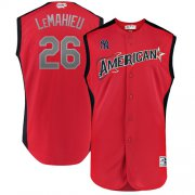 Wholesale Cheap Yankees #26 DJ LeMahieu Red 2019 All-Star American League Stitched MLB Jersey