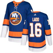 Wholesale Cheap Adidas Islanders #16 Andrew Ladd Royal Blue Home Authentic Stitched Youth NHL Jersey