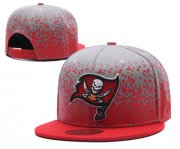 Wholesale Cheap NFL Tampa Bay Buccaneers Team Logo Red Snapback Adjustable Hat S01