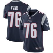 Wholesale Cheap Nike Patriots #76 Isaiah Wynn Navy Blue Team Color Youth Stitched NFL Vapor Untouchable Limited Jersey