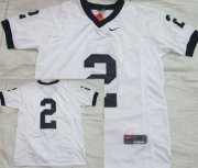 Wholesale Cheap Penn State Nittany Lions #2 White Jersey