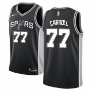 Wholesale Cheap Nike Spurs #77 DeMarre Carroll Black NBA Swingman Icon Edition Jersey