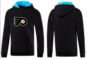Wholesale Cheap Philadelphia Flyers Pullover Hoodie Black & Blue