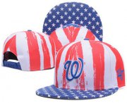 Wholesale Cheap Washington Nationals Snapback Ajustable Cap Hat 1