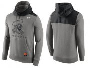 Wholesale Cheap Men's Pittsburgh Pirates Nike Gray Cooperstown Collection Hybrid Pullover Hoodie