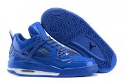Wholesale Cheap Air Jordan 4 11lab4 Shoes Blue/white