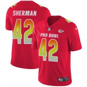 Wholesale Cheap Nike Chiefs #42 Anthony Sherman Red Youth Stitched NFL Limited AFC 2019 Pro Bowl Jersey
