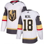 Wholesale Cheap Adidas Golden Knights #18 James Neal White Road Authentic Stitched Youth NHL Jersey