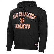 Wholesale Cheap San Francisco Giants Fastball Fleece Pullover Black MLB Hoodie