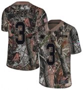 Wholesale Cheap Nike Panthers #3 Will Grier Camo Youth Stitched NFL Limited Rush Realtree Jersey