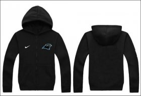 Wholesale Cheap Nike Carolina Panthers Authentic Logo Hoodie Black
