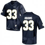 Wholesale Cheap Notre Dame Fighting Irish 33 Josh Adams Navy College Football Jersey