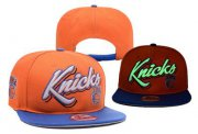 Wholesale Cheap NBA New York Knicks Adjustable Snapback Hat YD160627124