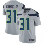 Wholesale Cheap Nike Seahawks #31 Kam Chancellor Grey Alternate Men's Stitched NFL Vapor Untouchable Limited Jersey