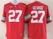 Wholesale Cheap Ohio State Buckeyes #27 Eddie George 2015 Playoff Rose Bowl Special Event Diamond Quest Red Jersey