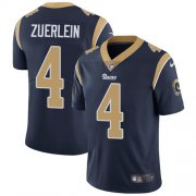 Wholesale Cheap Nike Rams #4 Greg Zuerlein Navy Blue Team Color Youth Stitched NFL Vapor Untouchable Limited Jersey
