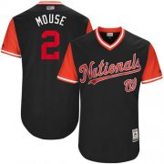 "Wholesale Cheap Nationals #2 Adam Eaton Navy ""Mouse"" Players Weekend Authentic Stitched MLB Jersey"