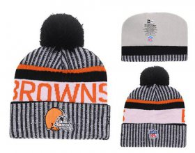 Wholesale Cheap NFL Cleverland Browns Logo Stitched Knit Beanies 010