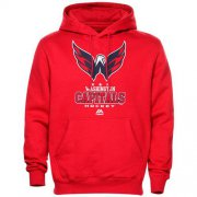 Wholesale Cheap Washington Capitals Majestic Critical Victory VIII Fleece Hoodie Red