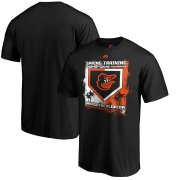 Wholesale Cheap Baltimore Orioles Majestic 2019 Spring Training Base On Ball T-Shirt Black