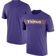 Wholesale Cheap Minnesota Vikings Nike Sideline Seismic Legend Performance T-Shirt Purple