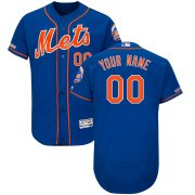 Wholesale Cheap New York Mets Majestic Alternate Flex Base Authentic Collection Custom Jersey Royal